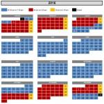 2016スタジアムツアーカレンダー